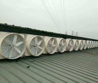 负压风机安装工程案例