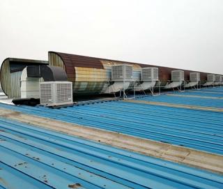 环保空调屋顶安装事例