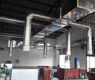 组合空调岗位送风安装实例